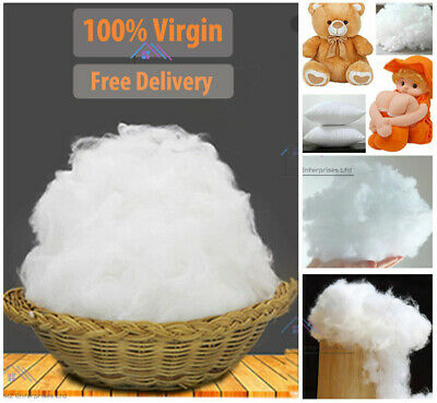 £12.95 • Buy HollowFibre Virgin Polyester Filling Soft Stuffing Toy Teddy Bear Cushion Pillow