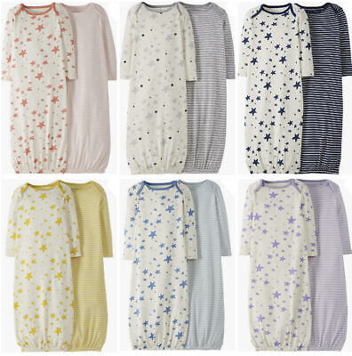 £12.95 • Buy  Baby Sleepsuit Nightgown Organic Cotton By Hanna Andersson 0-3 3-6 Mths £18