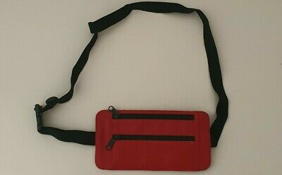 $ CDN180.17 • Buy RRP $138 SS19 Supreme Cowhide Leather Waist/ Shoulder Pouch Bag Red