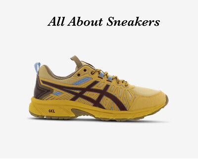 £119.99 • Buy Asics Gel Venture 7 Studio  Yellow-Brown  Men Trainers All Sizes Limited Stock