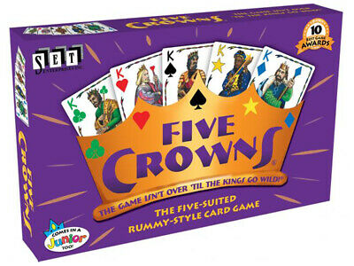 AU39.95 • Buy Five 5 Crowns Family Card Game Board Game Man Cave Birthday Fathers Day Gift