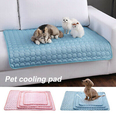 £13.99 • Buy Pet New Summer Cooling Mat Cold Gel Pad Comfortable Cushion For Dog Cat Puppy UK