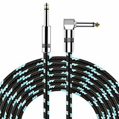 $ CDN11.01 • Buy  Guitar Cable 10ft Electric Instrument Cable Bass AMP Cord For Electric