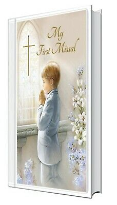 £7.50 • Buy Boy's First Holy Communion My First Missal White Padded Cover Religious Gift New