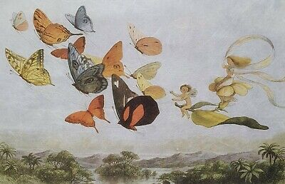 £1.99 • Buy Rice Paper For Decoupage Scrapbook Craft Fairy Gnome Butterflies 960