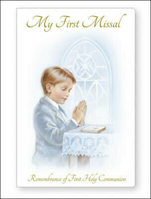 £3.25 • Buy Boy's First Holy Communion My First Missal White Paper Back Religious Gift New