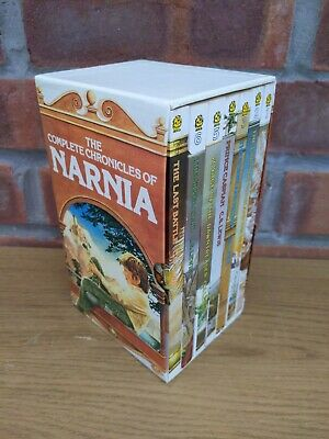 £14.99 • Buy 1989 C S Lewis  Complete Chronicles Of Narnia  7 Books Boxset Paperbacks Vgc Vtg