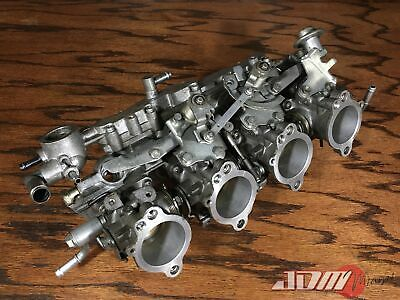 AU720.86 • Buy TOYOTA 4AGE 20valve INDIVIDUAL THROTTLE BODIES ITBs 91-93 Silver Top 22210-16621
