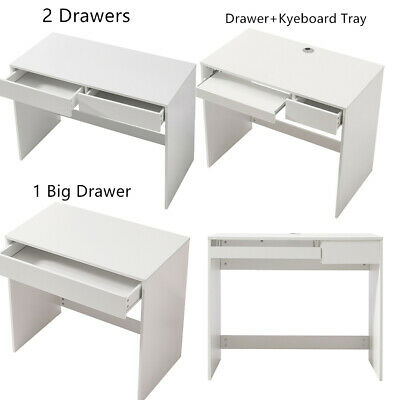 £29.99 • Buy Computer Desk Wooden Writing Study WorkStation Storage Home Office 3 Colours