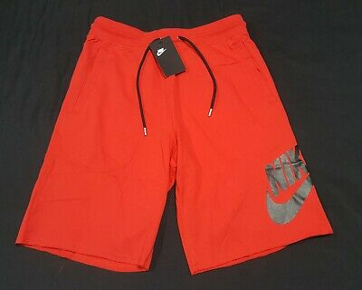 $59.99 • Buy Nike Sportswear French Terry Shorts Men's Red Black - AT5267-659