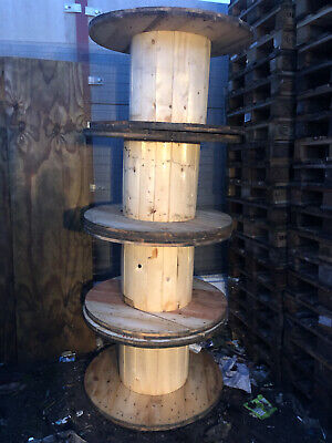 Wooden Cable Drum Pallet Furniture Ideal Garden Table  • 20£