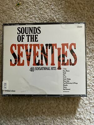 £4.80 • Buy Various Artists-Sounds Of The Seventies DOUBLE CD
