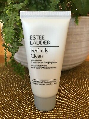 £6.75 • Buy Estee Lauder Perfectly Clean Multi-Action Foam Cleanser / Purifying Mask 50mL
