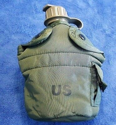 $ CDN13.25 • Buy  Genuine US Military 1-QT OD Green INSULATED COVER- NICE!!