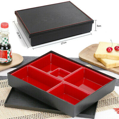 AU14.96 • Buy 5 Compartment Lunch Box Bento Leakproof Kids Food Container Storage School Tool