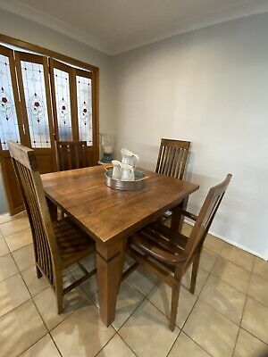 AU125 • Buy Dining Table And 4 Chairs Balinese Style