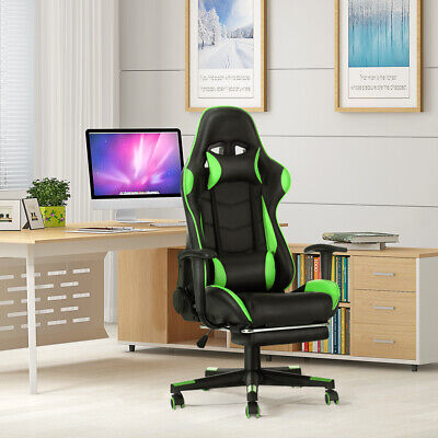 £79.99 • Buy Gaming Chair Office PC Computer Video Game Chair Recliner Swivel Chair Modern