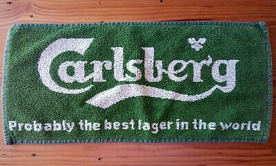 Foster/'s Lager Beer Bar Towel Amber Nectar Pub Home Bar Man Cave New Unused