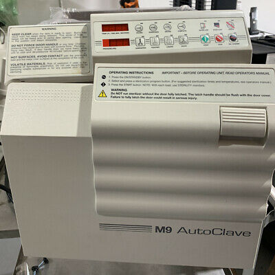 $2200 • Buy Ritter M9-001 UltraClave / Self-Contained Steam Sterilizer / Good Condition