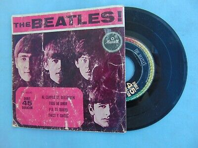 £24.52 • Buy The Beatles Mexcan Ep 1st Press Musart Roll Over Beethoven From With The Beatles