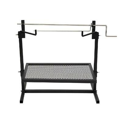 £46.74 • Buy 24x16 Rotisserie Grill Outdoor Campfire Cooking Camping Equipment Kitchen Patio