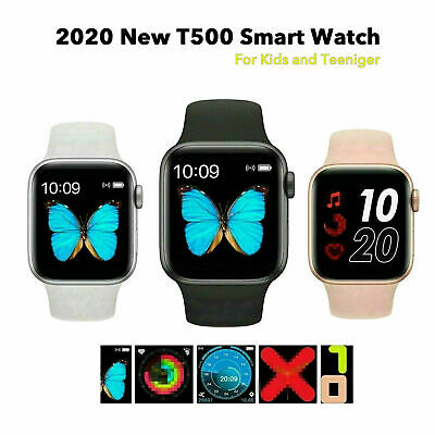 AU44.99 • Buy 2021 New T500 Smart Watch IOS Phone Android Blood Pressure Heart Rate 44mm IWC
