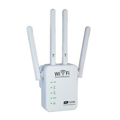 AU38.34 • Buy 2.4GHZ 5GHZ Dual-Band 1200M WiFi Extender Wireless Signal Repeater Amplifier