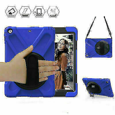 £7.99 • Buy Blue Boy Case For IPad 9.7'' 2017 A1822 A1823 Cover Hand Grip Anti-Slip Kid Safe