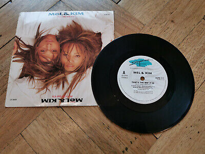 £2.29 • Buy Mel & Kim Thats The Way It Was 7  Vinyl Record Good Condition