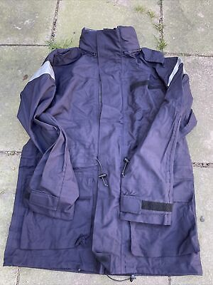 £35 • Buy Royal Navy Issue Gore Tex Foul Wet Weather Smock 180/96 - LARGE