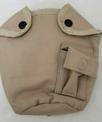 $ CDN8.46 • Buy Military Issued Tan/Khaki Insulated 1qt. Canteen Pouch-NEW