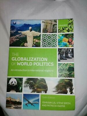 £8 • Buy The Globalization Of World Politics: An Introduction To World Politics 6th Sixth
