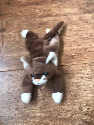 £2 • Buy Ty Beanie Babies Pounce The Cat