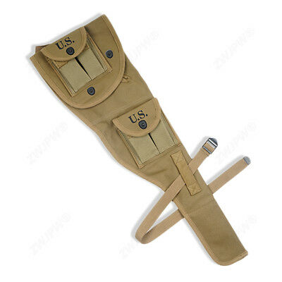 $43.19 • Buy WWII US Army M1 Carbine Paratrooper Canvas Bag Jump Case Mag Pouch Replica