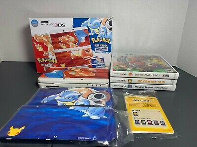 $629.99 • Buy 3DS Pokemon 20th Anniversary *RARE* Limited Edition Console Plus Extras