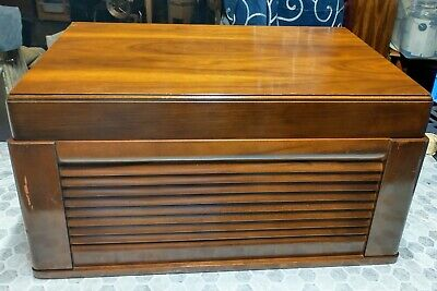 $ CDN461.52 • Buy 1949 Silvertone Wire Recorder AM Tube Radio Phono With Microphone Tested