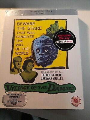 £14.95 • Buy Village Of The Damned - (blu Ray+art Cards Premium Collection) New Sealed