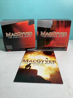 $89.94 • Buy MacGyver The Complete Series DVD Show 2007 39-Disc Set 139 Episodes Free Ship