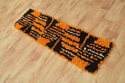 AU153.03 • Buy Vtg Mid Century Modern 70s WALL TAPESTRY Abstract Modernist Vintage Hanging Rug