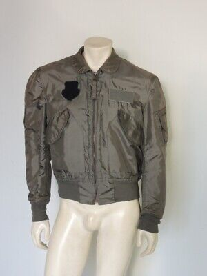 $ CDN78.65 • Buy Vintage 1981 CWU-36/P Flight Jacket MIL-J-83382B Distressed Alpha Size MEDIUM