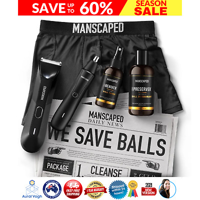 AU179.97 • Buy Manscaped -the Performance Package - The Lawn Mower 3.0 + Weed Whacker Trimmers