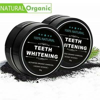 AU4.12 • Buy 2021 Activated Charcoal Powder Natural Organic Black Teeth Whitening Toothpaste