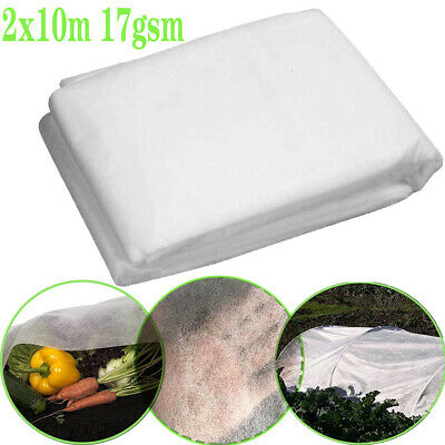 £9.98 • Buy Heavy Duty Garden Fleece Plant Protection White Horticultural Cover Frost Winter