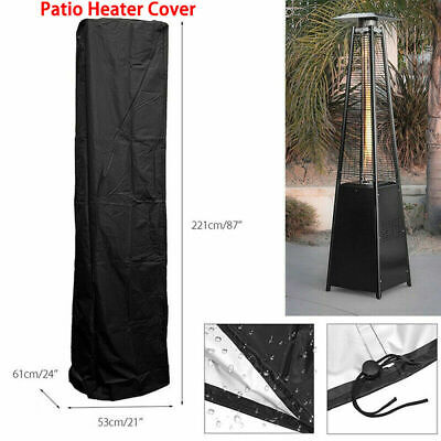 £11.99 • Buy Waterproof Gas Pyramid Patio Heater Cover Outdoor Furniture Protector