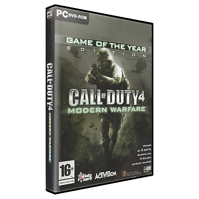 £5.70 • Buy Call Of Duty 4: Modern Warfare - Game Of The Year Edition (PC)