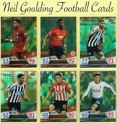 £5.99 • Buy Match Attax ULTIMATE 2018-2019 ☆ GREEN PARALLEL ☆ Football Cards #/100