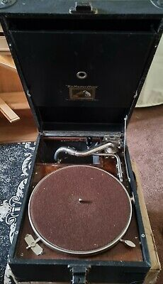 £89 • Buy Vintage Hmv Model 101b Portable Picnic Gramophone In Excellent A1 Working Order