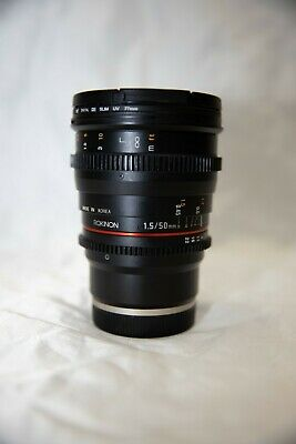 AU200 • Buy Rokinon F/1.5 50mm CINE Lens - SONY Mounted Lens(Excellent Condition)