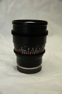 AU250 • Buy Rokinon F/1.5 85mm CINE Lens - SONY Mounted Lens (Excellent Condition)