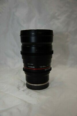 AU300 • Buy Rokinon F/1.5 24mm CINE Lens - SONY E Mounted Lens (Excellent Condition)